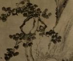 Landschaft mit Gelehrten im Pavillon unter einem Wutong-Baum