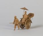 Modell einer Rikscha