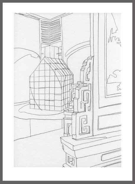 M.-Beckmann-Zeichnung